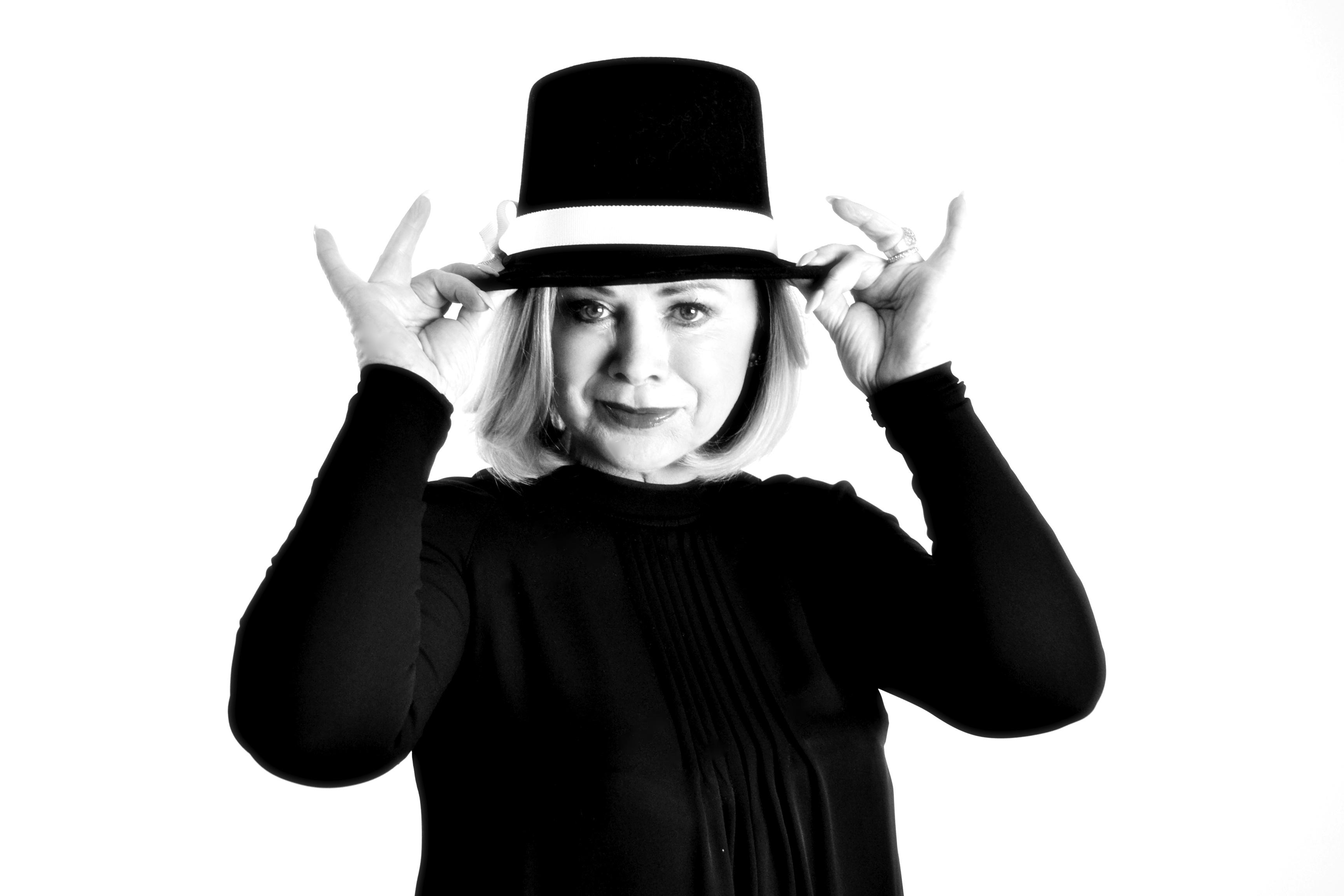 Marijke Amado mit Hut